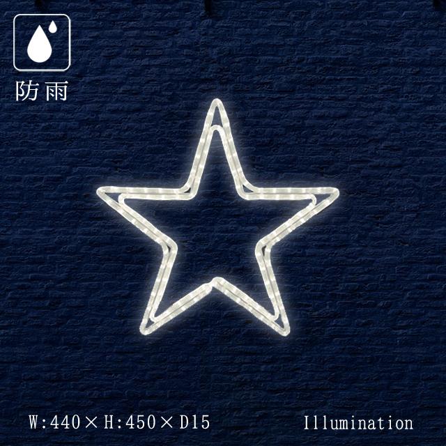 業務用 イルミネーション モチーフ 2D クリスマス 屋外 防雨 LED ロープライト ペインタスター A 小
