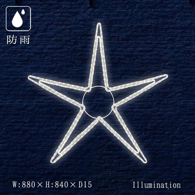 業務用 イルミネーション モチーフ 2D クリスマス 屋外 防雨 LED ロープライト ペインタスター B 大