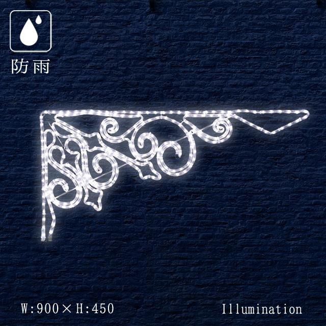 業務用 イルミネーション モチーフ 2D クリスマス 屋外 防雨 LED ロープライト パーティカル 小