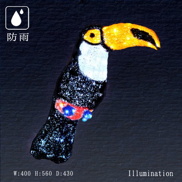 業務用 イルミネーション モチーフ 3D クリスマス 屋外 防雨 LED クリスタルグロー オオハシ