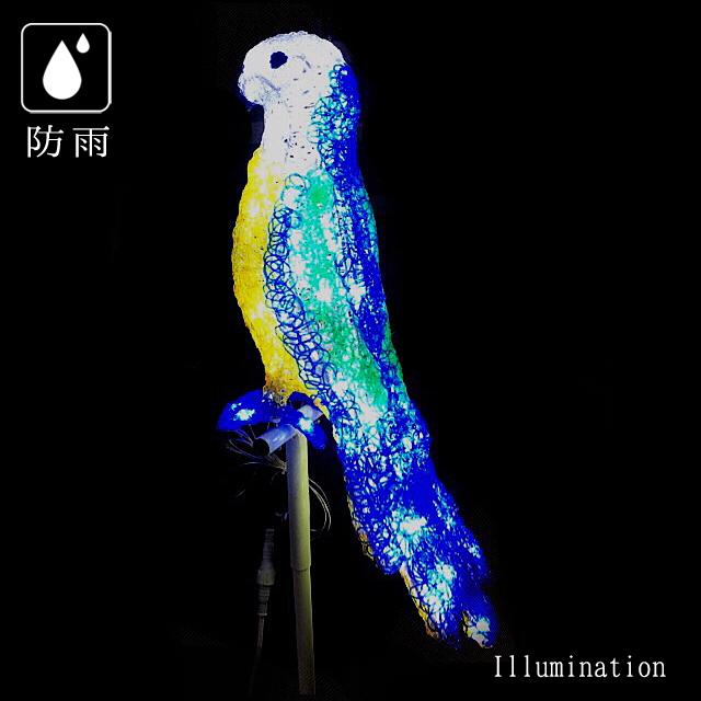 業務用 イルミネーション モチーフ 3D クリスマス 屋外 防雨 LED クリスタルグロー ルリコンゴウ