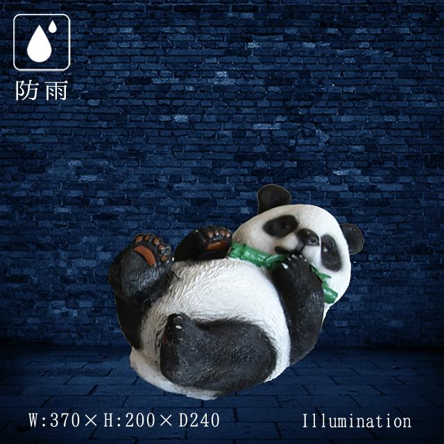 業務用 イルミネーション モチーフ 3D 動物 像 クリスマス 屋外 防雨 LED ナチュマル リトルパンダ A