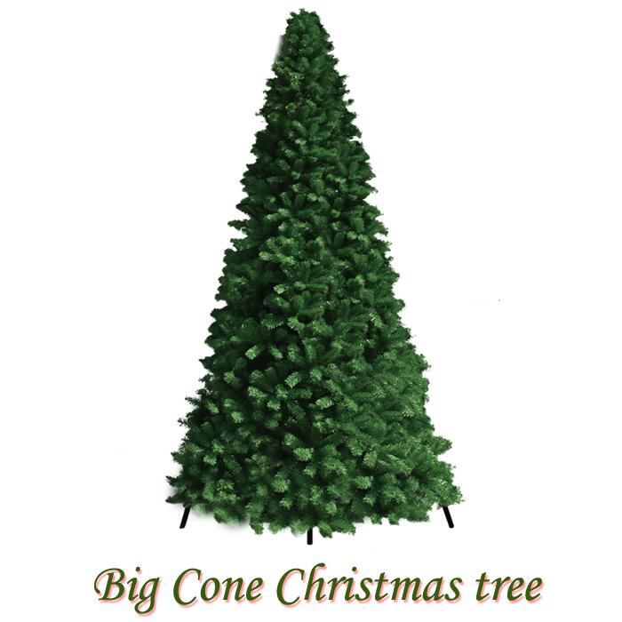 クリスマスツリー ビックツリー グリーンビッグコーンツリー 10m