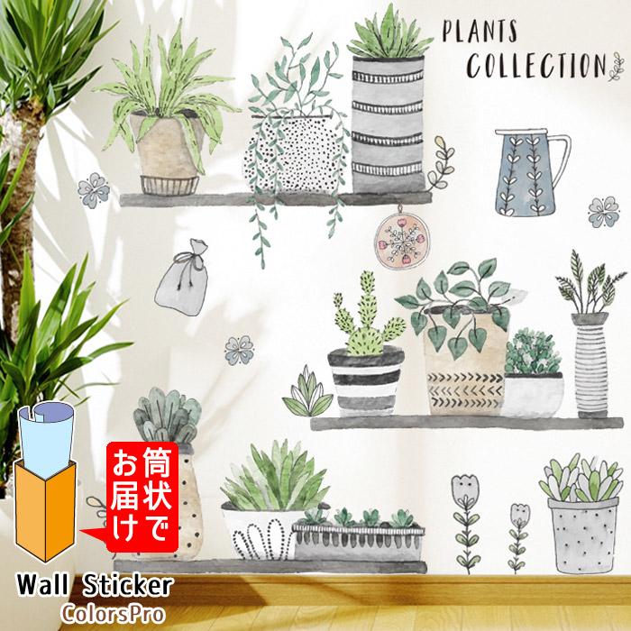 おしゃれでかわいいウォールステッカー ワンポイント貼るだけでおうちやお店の雰囲気が華やかに 窓や浴室にも 子供部屋 簡単DIY インスタ映え ウォールステッカー 植物 イラスト 手描き アート 観葉植物 ナチュラル ウォールシール 期間限定特別価格 カフェ はがせる ショッピング 壁飾り ウォールシート ゆるかわいい カントリー Wallsticker インテリアシール 北欧