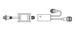 LEDソフトネオン用コントローラー(セット) PR3-C60-08P ジェフコム 【送料無料】
