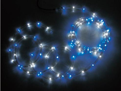 ジェフコム LEDソフトネオン 64m 青・白(ロッドのみ) PR3L-E24-64BW