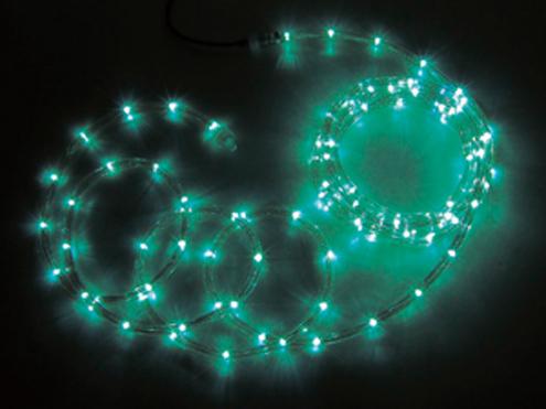 ジェフコム LEDソフトネオン 32m 緑・緑(ロッドのみ) PR3L-E24-32GG