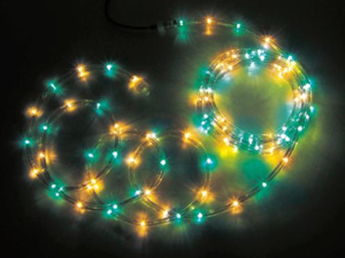 ジェフコム LEDソフトネオン 64m 緑・黄(ロッドのみ) PR3L-E24-64GY
