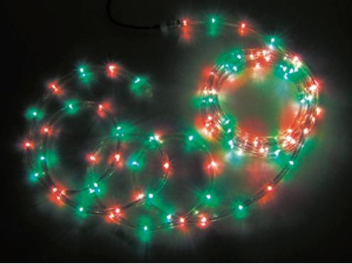 ジェフコム LEDソフトネオン 32m 赤・緑(ロッドのみ) PR3L-E24-32RG