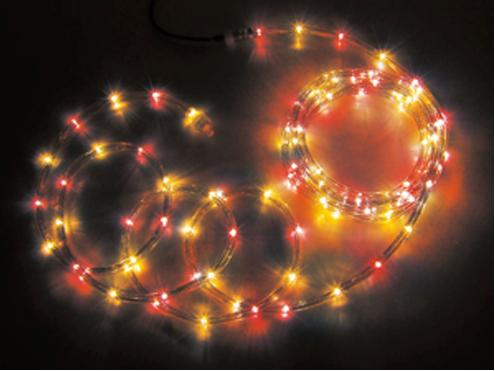 ジェフコム LEDソフトネオン 32m 赤・黄(ロッドのみ) PR3L-E24-32RY