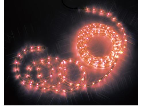 ジェフコム LEDソフトネオン 8m・赤(ロッドのみ) PR3S-E24-08RR