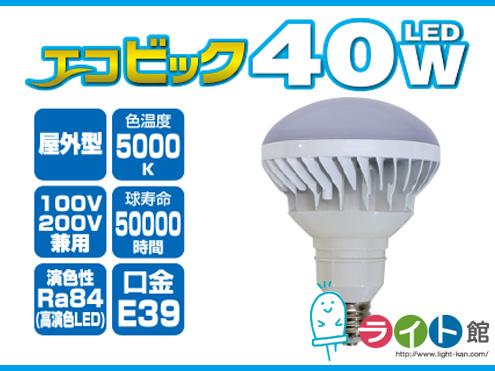 新しいコレクション 日動工業 電球型LED交換球 エコビック エコビック 40W L40W-JW110-50K 日動工業 L40W-JW110-50K, CS STORE:b35e83c4 --- portalitab2.dominiotemporario.com