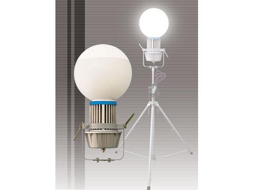 日動工業 LED特大電球メガバルーン LEN-100PE/D-BC35 透明Φ350 【代引き不可商品】
