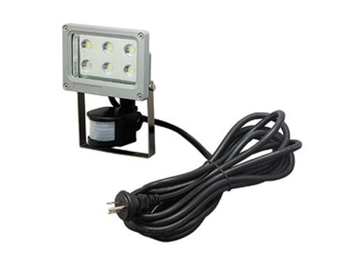 ジェフコム LED投光器 6W・センサータイプ PDS-0106C