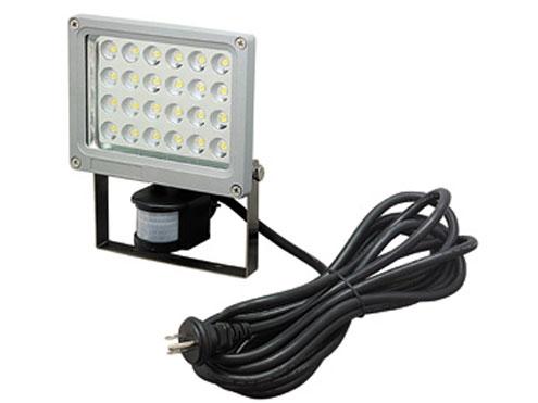ジェフコム LED投光器 24W・センサータイプ PDS-0124C