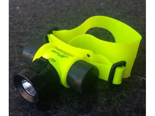 水中LEDヘッドライト 3W 防水型ヘッドライト WH-3 アイガーツール 新作続 高品質