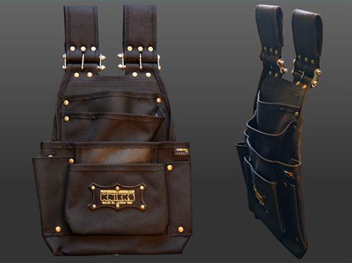 プロ仕様のオリジナルバッグ 初回限定 オリジナルホルダー KNICKS チェーンタイプ BA-6501DX 永遠の定番モデル ニックス超軽量2×4工法用バリスティクナイロン釘袋