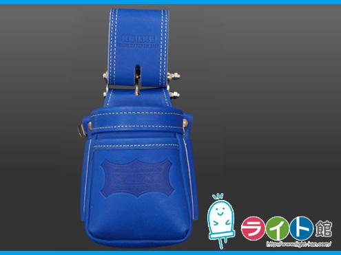 KNICKS ニックスグローブ革 小物腰袋(VAストリッパーフォルダー)KGBL-201VADX(ブルー)
