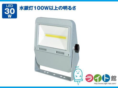 日動工業 LEDフラットライト 作業灯 30W LEN-F30D-SL-50K