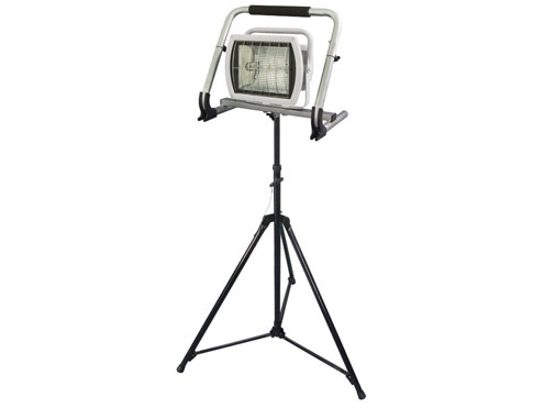 日動工業 瞬間再点灯メタルハライドライト MHN-150ML-S 三脚仕様 【代引き不可商品】