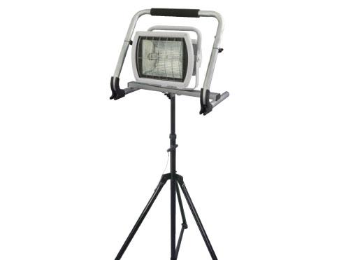 日動工業 瞬間再点灯メタルハライドライト150W MHN-150ML-S-MTD 三脚仕様 【代引き不可商品】