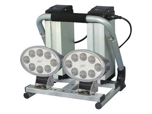 日動工業 LEDバッテリーライト(リチウムイオンバッテリー)屋内型 LED18-2L2B