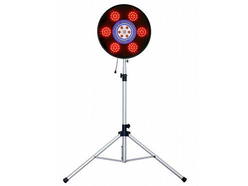 LED大型警告灯 キタムラ産業 KAO-100SS 【オーロラ 三脚付(赤回転・点滅)】 【代引き不可商品】