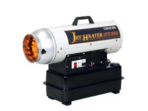 オリオン ジェットヒーターHP / 可搬式温風機 HPE150A 【代引き不可商品】