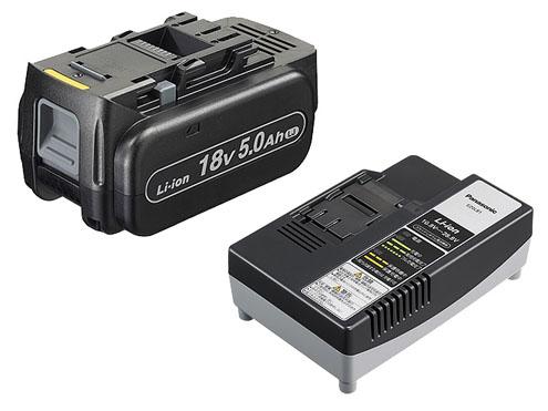 パナソニック リチウムイオン電池パック 18V 5.0Ah(LJタイプ)+急速充電器セット EZ9L54ST 【在庫あり】