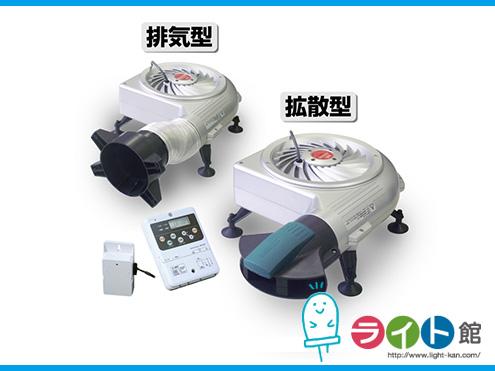 床下換気 セイホープロダクツ タービン・ユニット Type A/AP(i) 排気型+拡散型ユニットタイプ UN-TUAi-DBPH(Pタイプ)【異常センサー付モータ標準装備】