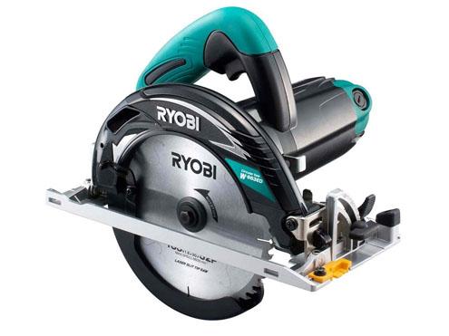 RYOBI リョービ 電子丸ノコ W-663EDM 丸のこ 165mm W663EDM 電子丸のこ 丸鋸 ★チップソー165ミリ付属