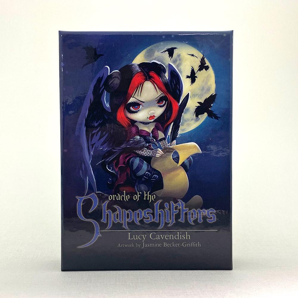 独特な世界観のカードがリニューアル シェイプシフターオラクルカード ブルーエディション 日本語解説書付き ルーシー 日本 ジャスミン ベケット-グリフィス スピード対応 全国送料無料 キャベンディッシュ