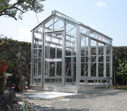 ガラス温室