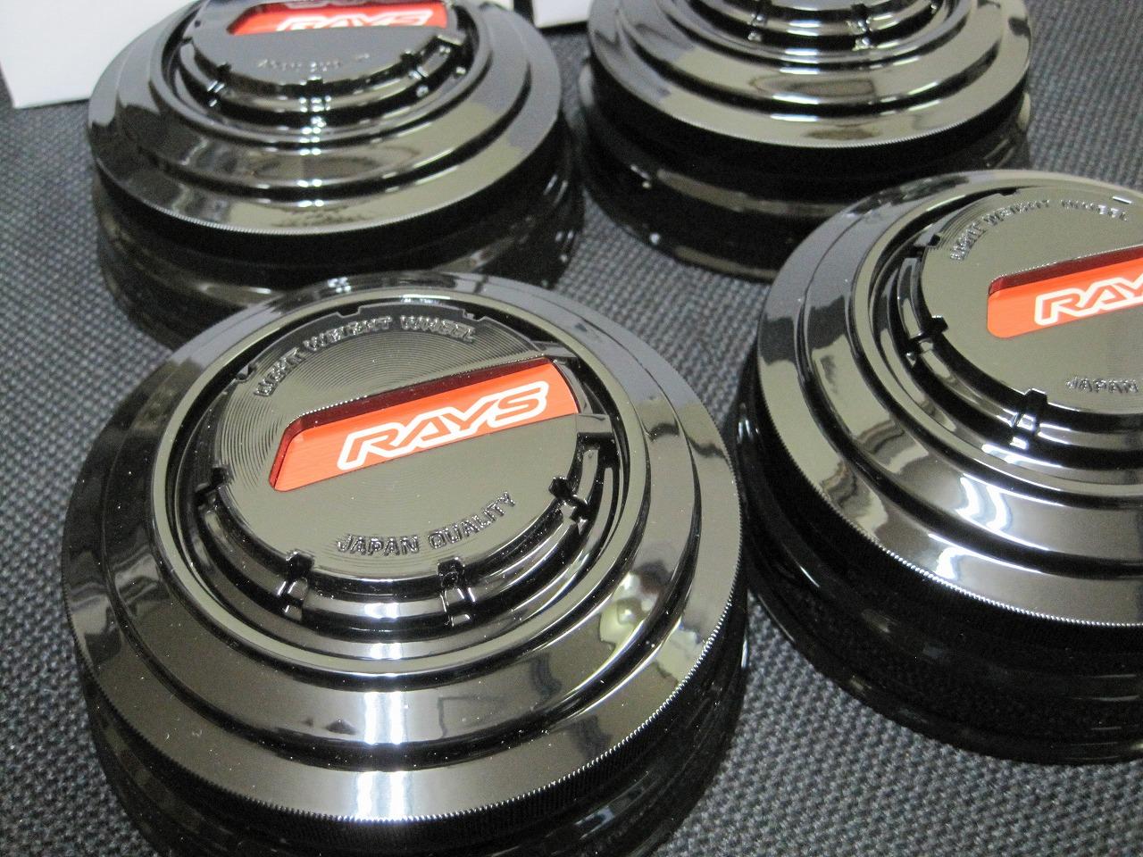 レイズ 6穴 RAYS LPS 6Hセンターキャップ 新品4個セット!