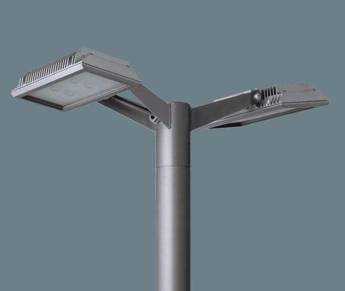 Panasonic パナソニック ポール取付型 LED(昼白色) モールライト ワイド配光(角度可変タイプ) 防雨型 パネル付型 水銀灯100形2灯器具相当/HID100形2灯器具相当/コンパクト形蛍光灯FHT57形2灯器具相当 水銀灯100形