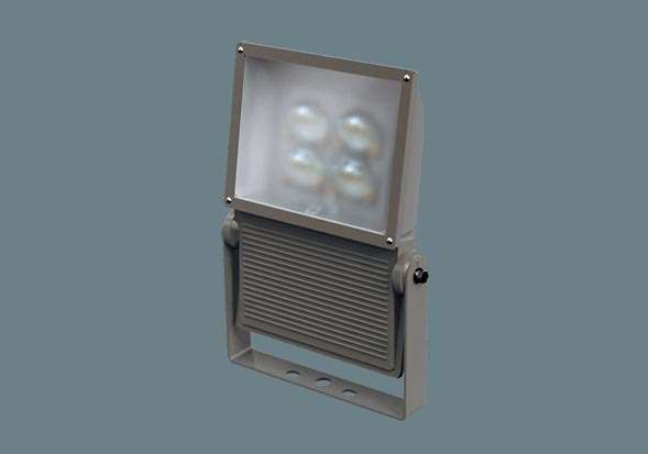 Panasonic パナソニック ポール取付型 LED(昼白色) 投光器 広角タイプ配光 防雨型(結線ボックス)・防まつ型(灯具本体部) パネル付型 水銀灯400形1灯器具相当