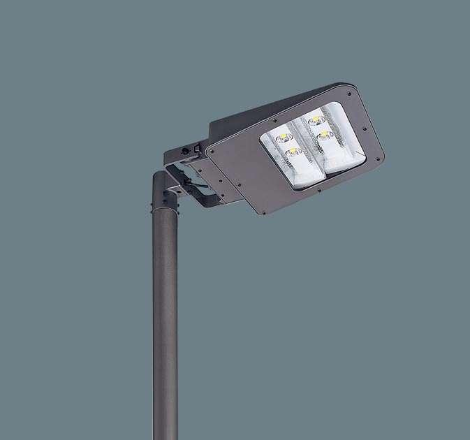 ◆受注品Panasonic パナソニック ポール取付型 LED(アカルミナホワイト色) モールライト 明光色・フロント配光 防雨型・タイマー段調光・定格出力初期光束補正型 アカルミナ パネル付型 水銀灯250形1灯器具相当 500形