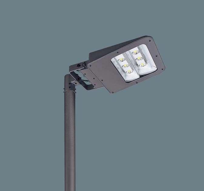 ◆受注品Panasonic パナソニック ポール取付型 LED(アカルミナホワイト色) モールライト 明光色・フロント配光 防雨型・タイマー段調光・定格出力初期光束補正型 アカルミナ パネル付型 水銀灯400形1灯器具相当 1000形