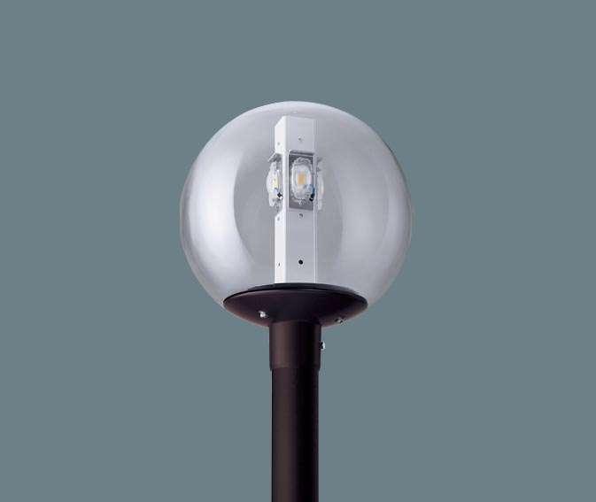 Panasonic パナソニック ポール取付型 LED(昼白色) モールライト ガラス(透明)グローブ 防雨型(灯具のみ) HID300形1灯器具相当