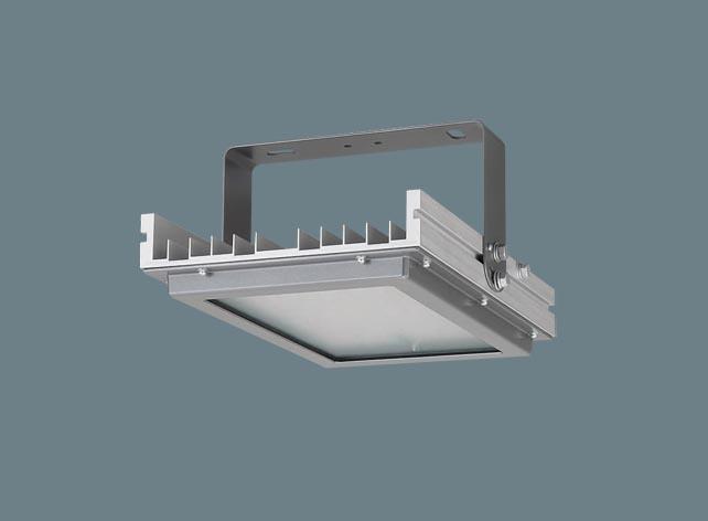 ◆受注品◆XYM2012LE9 Panasonic LED(昼白色) 高天井用照明器具 拡散タイプ 防噴流型・耐塵型・電源別置型 パネル付型 マルチハロゲン灯400形1灯器具相当