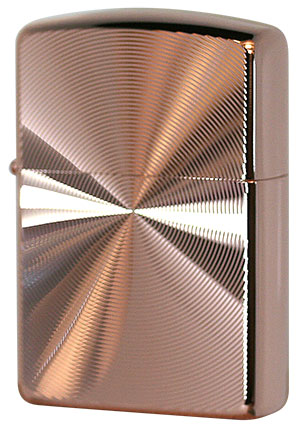 Zippo ジッポー アーマー スピンカット No.162 ピンクゴールド zippo ジッポライター オプション購入で名入れ可