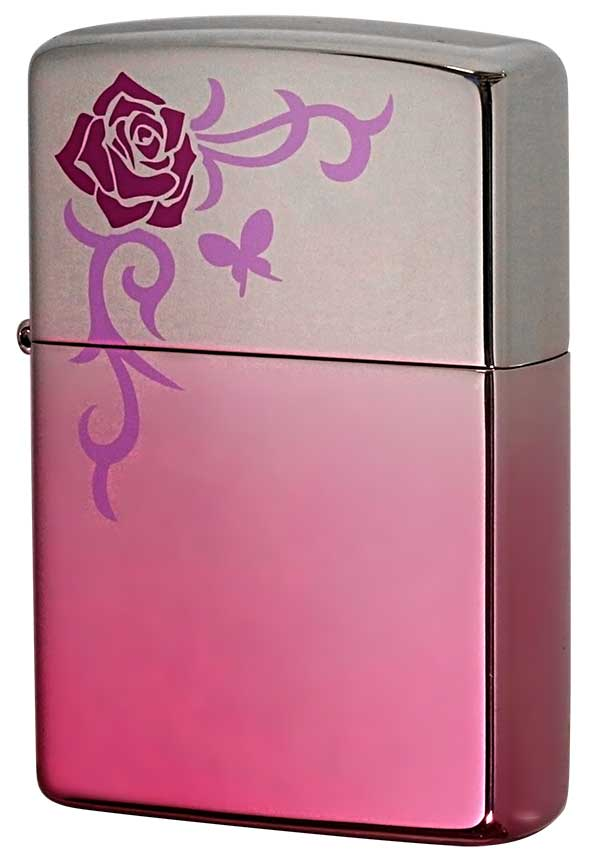 Zippo ジッポー Mysterious Pink ミステリアスピンク MP1-RP zippo ジッポ ライター オプション購入で名入れ可 メール便可