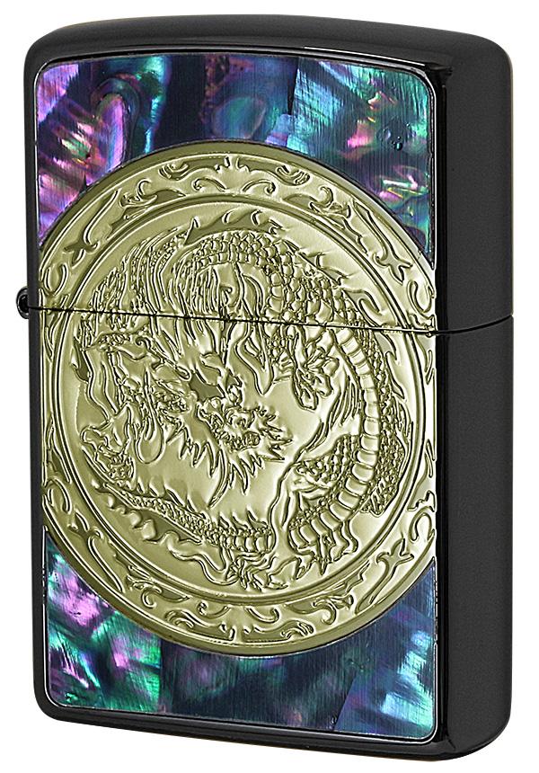 Zippo ジッポー Dragon Shellfish ドラゴンシェル 2BNG-DRSF zippo ジッポ ライター オプション購入で名入れ可