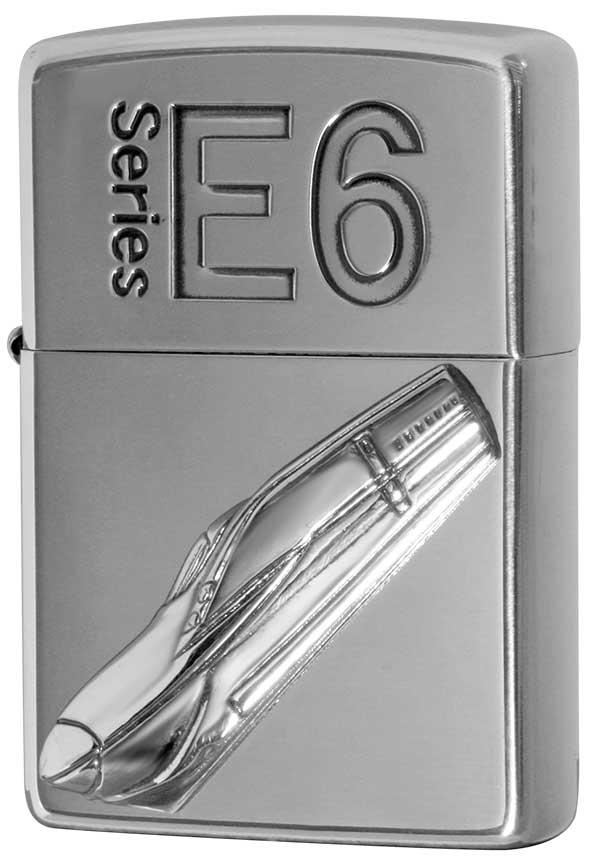 Zippo ジッポー 新幹線 E6 zippo ジッポ ライター オプション購入で名入れ可