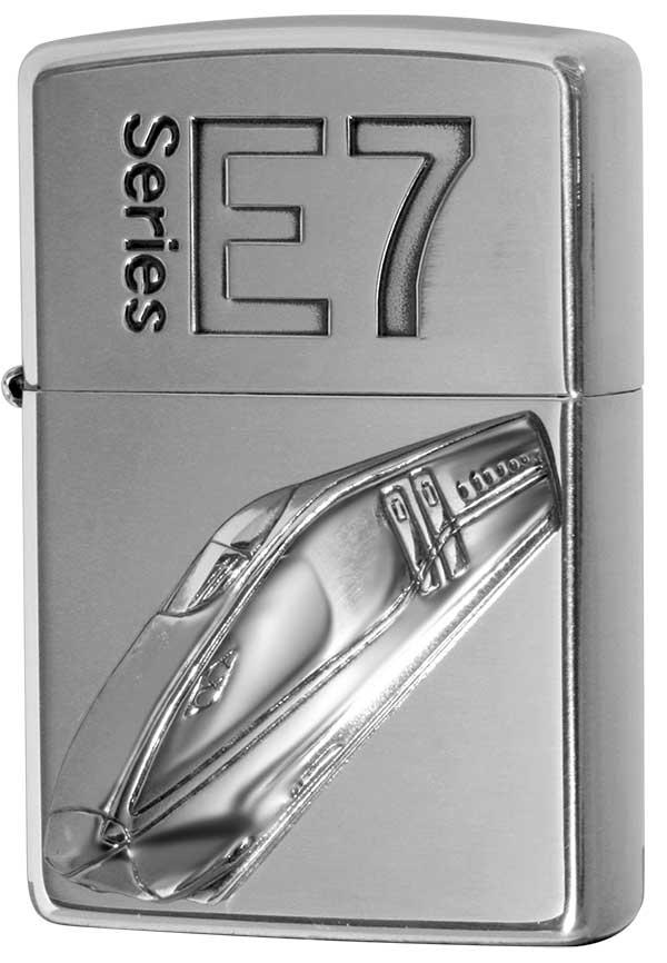 Zippo ジッポー 新幹線 E7 zippo ジッポ ライター オプション購入で名入れ可