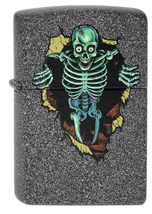 Zippo ジッポー Skull Wall 2003837 zippo ジッポライター オプション購入で名入れ可