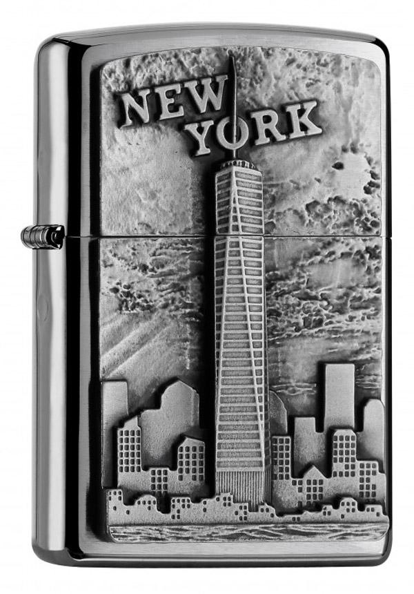 Zippo ジッポー New York Emblem 2004740 zippo ジッポ ライター オプション購入で名入れ可