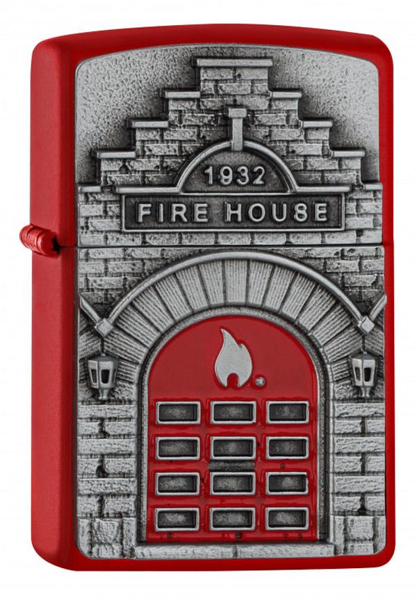 Zippo ジッポー Fire House 2005338 zippo ジッポ ライター オプション購入で名入れ可