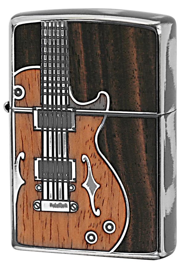 Zippo ジッポー アンティークギター SV 1201S442 zippo ジッポライター オプション購入で名入れ可