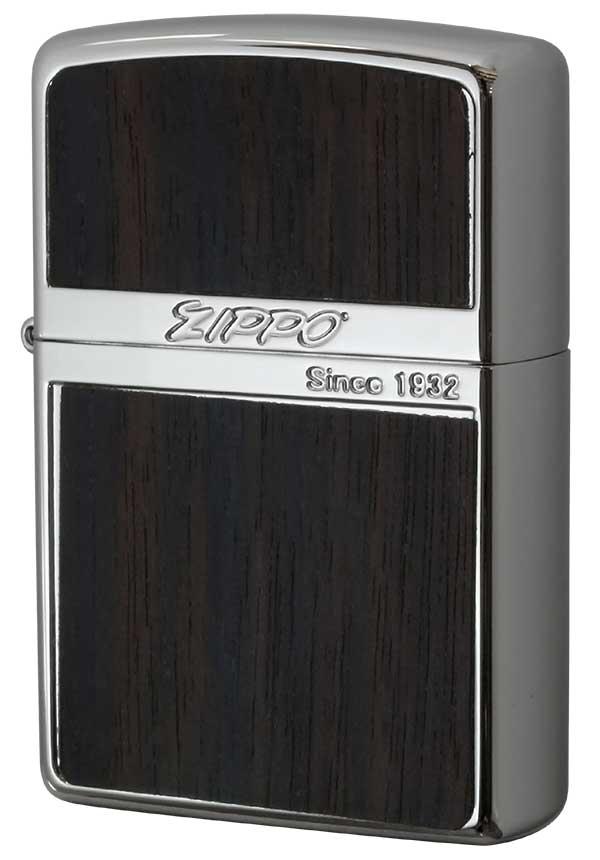 Zippo ジッポー Wood Series ウッドシリーズ WN-Wood ダーク 黒檀 zippo ジッポ ライター オプション購入で名入れ可